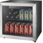 Insignia – 48-Can Beverage Cooler – Stainless Steel/Silver $109.99 (Retail $149.99)