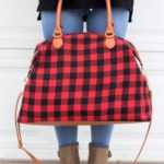 Buffalo Plaid Bag $18.99 (Retail $52.99)