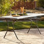 Lifetime 6′ Fold-In-Half Commercial Table $44.98 Shipped