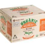 Member's Mark Organic Breakfast Blend Coffee (100 single-serve cups) $26.98 (Retail $39.98)