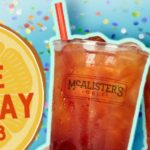 McAlister's Deli Free Tea Day June 21st