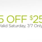 Dollar General – Save $5 Off Of Your $25 Purchase July 7th