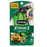 Schick Xtreme 3 Sensitive Disposable Razors 47¢ at Walmart