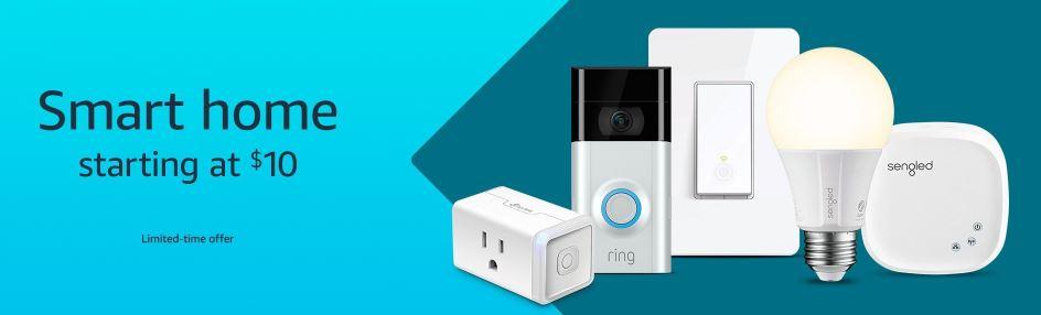 TP-Link HS105 Smart Plug or LIFX Mini White Smart Bulb $10