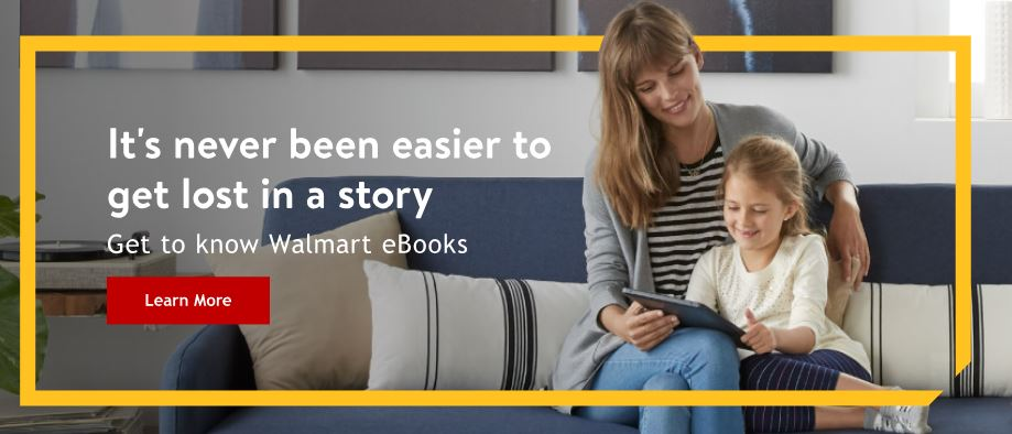 Walmart eBooks - Get $10 Off Of Your First eBook or