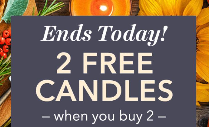 Yankee Candle - Buy 2 Get 2 FREE Candles - STL Mommy