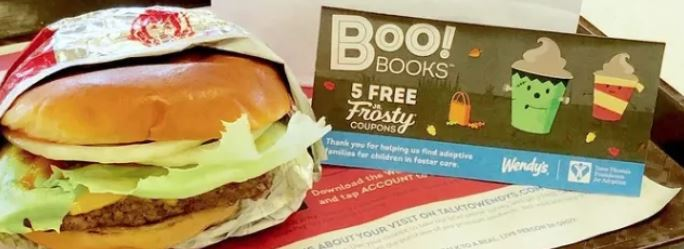photograph about Wendy's Printable Coupons named Wendys $1 Halloween Textbooks Are Again With 5 Cost-free Jr. Frosty
