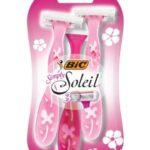 BIC Simply Soleil 3 Blade Women's Disposable Razor, 3 Count 27¢ At Walmart