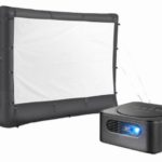 Insignia Projector & 96″ Inflatable Outdoor Projector Screen Bundle $299.98 Shipped (Retail $499.98)