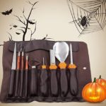10-Piece Professional Wooden Pumpkin Carving Tools Kit $9.99