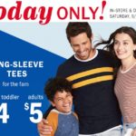 Old Navy – Long Sleeve Tees As Low As $4 *Today ONLY*