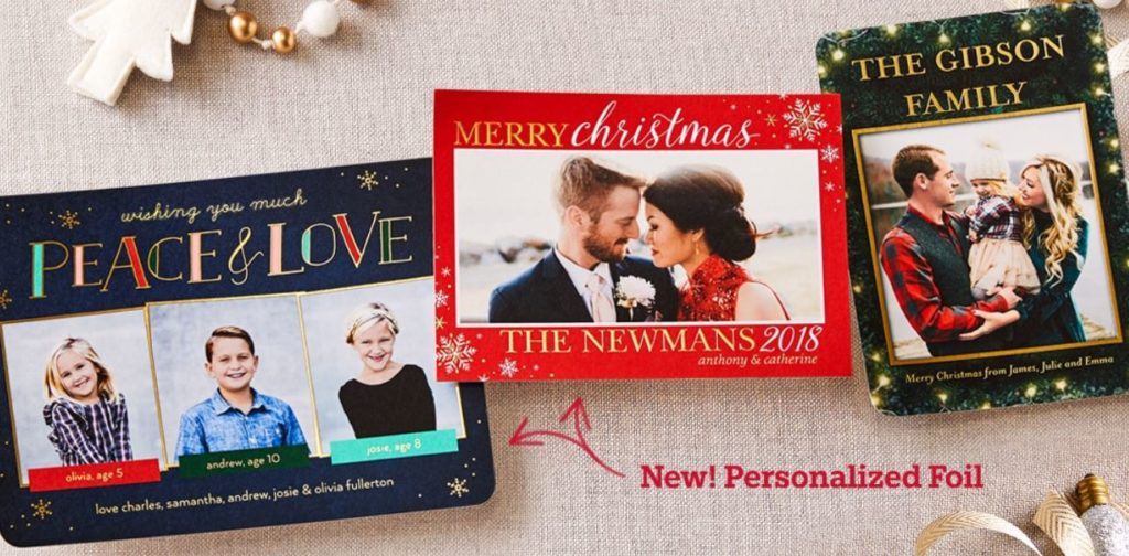 Shutterfly Holiday Cards 50% Off + FREE Shipping - STL Mommy