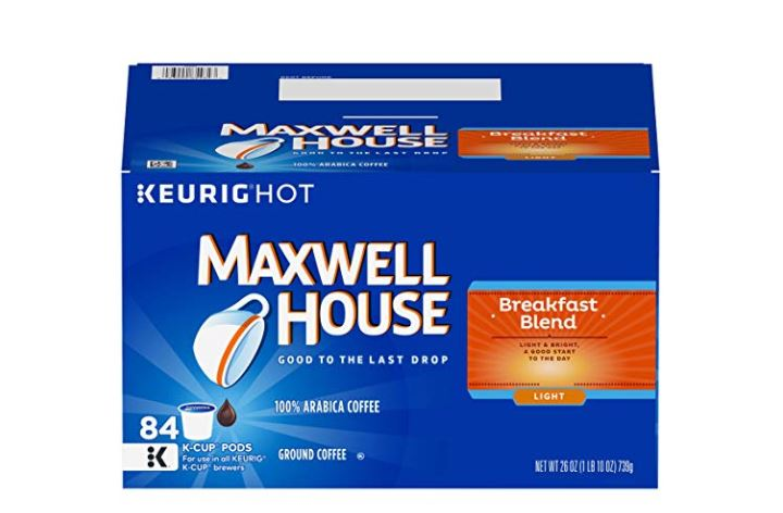 graphic relating to Gevalia Printable Coupons known as Clean McCafé, Maxwell Household Gevalia Electronic Coupon + Package