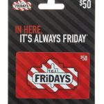 Gift Card Deals – T.G.I. Friday's, Famous Footwear & More