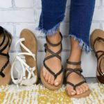 Braided Gladiator Sandals $19.99 (Retail $54.99)