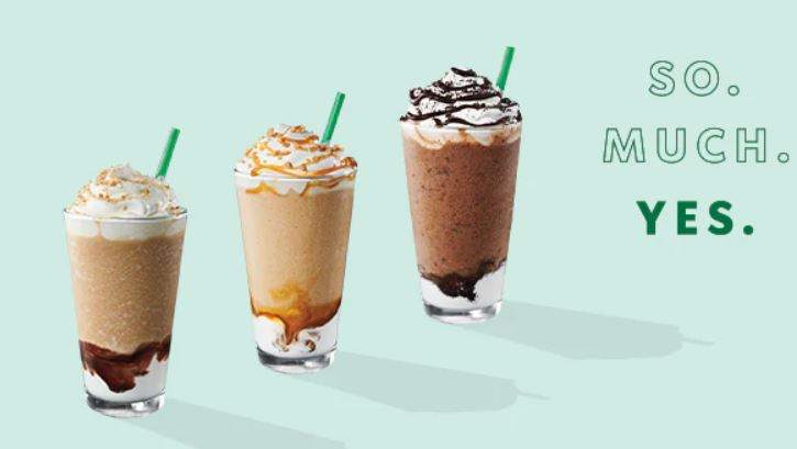 Starbucks Happy Hour - 50% Off Frappuccino Blended Drinks