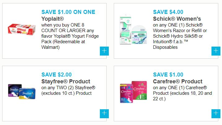 image regarding Yoplait Printable Coupon identified as Clean Printable Coupon codes - Cottonelle, Clorox, Schick, Yoplait