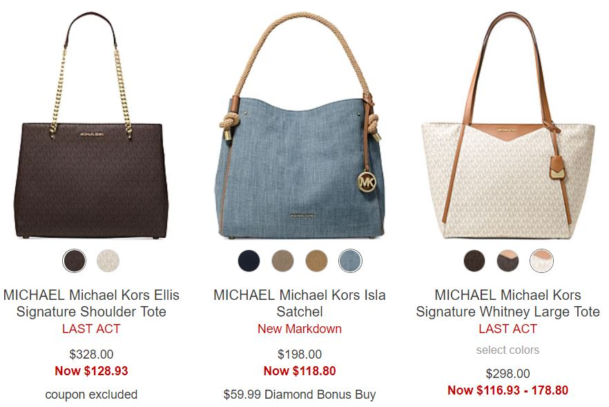 photo relating to Michael Kors Printable Coupons titled Conserve up in the direction of 75% off Michael Kors Purses + Free of charge Delivery