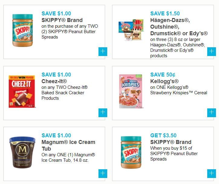 photo about Ice Cream Coupons Printable referred to as Fresh Printable Coupon codes - Skippy, Magnum Ice Product, Colgate